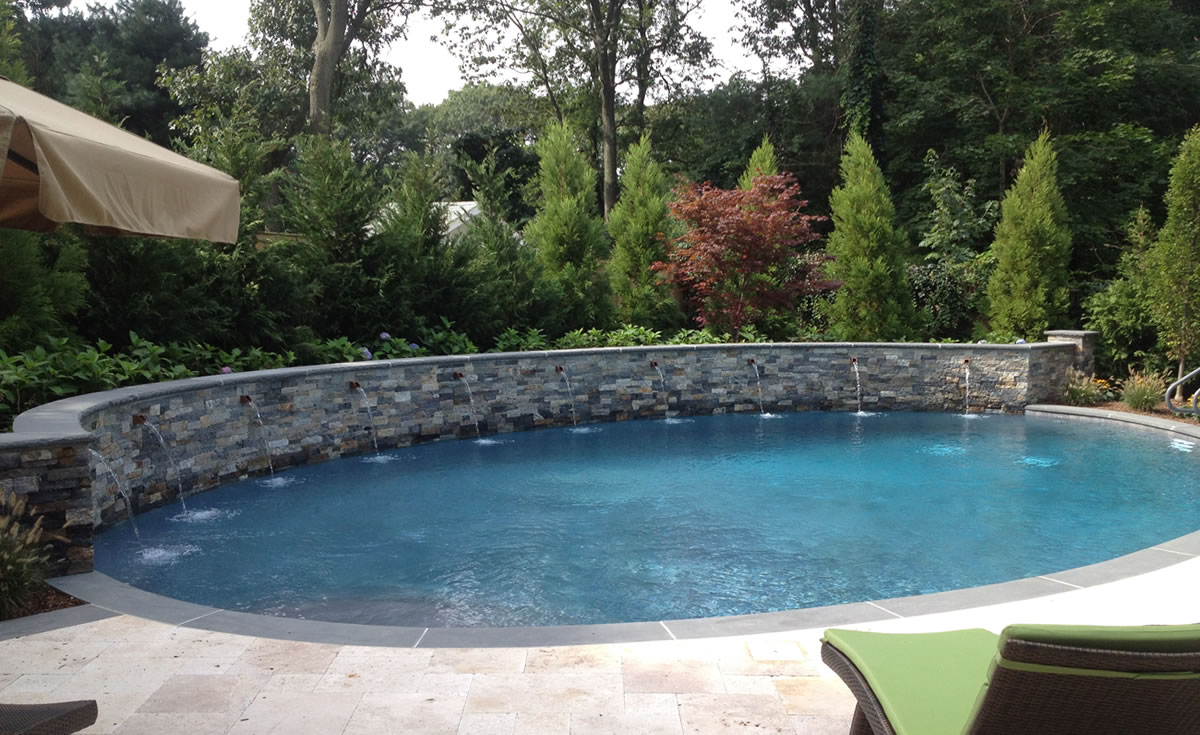 Gallery of long island pool builder paco pools for Pool of pools