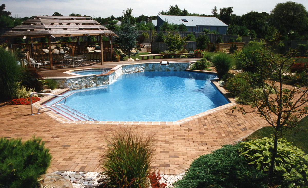 Gallery of long island pool builder paco pools for Pool design long island ny